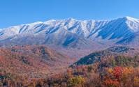 Autumn Snow in the Smokies