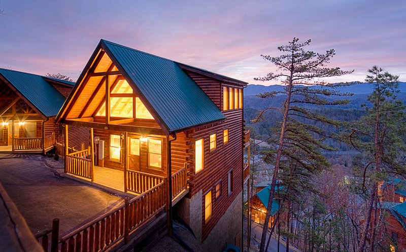Cabins in the mountains joy studio design gallery best Best mountain view cabins in gatlinburg tn