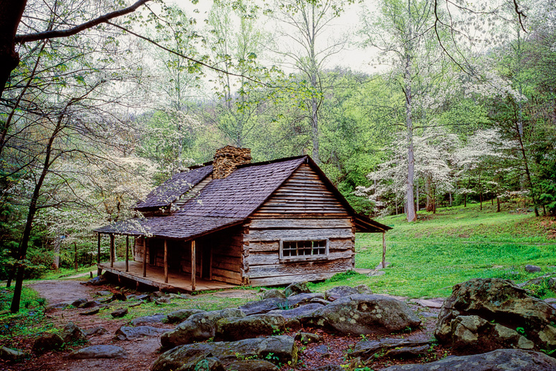 "Smoky Mountain Cabins ~ Featured photo noah ""bud ogle cabin william britten"
