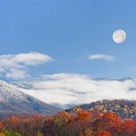 Featured Photo: Smoky Mountain Moonrise