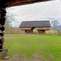 Smoky Mountain Cantilever barns