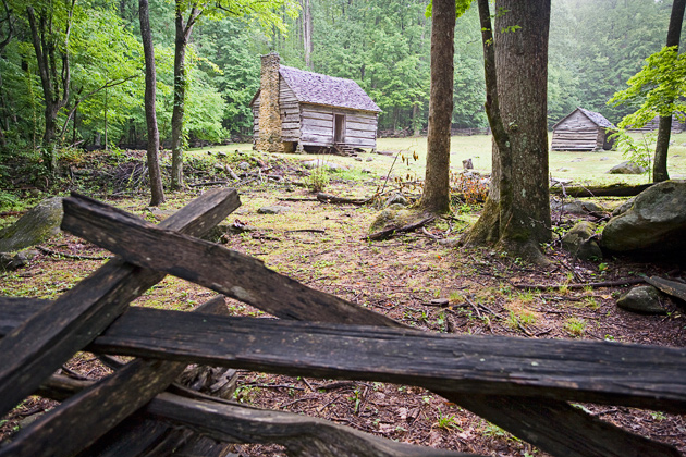 Along the roaring fork jim bales place william britten for Roaring fork smoky mountains