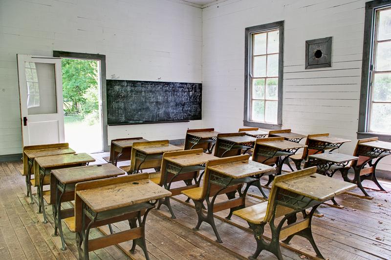 Cataloochee: Beech Grove School