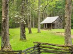 Carter Shields cabin in Cades Cove