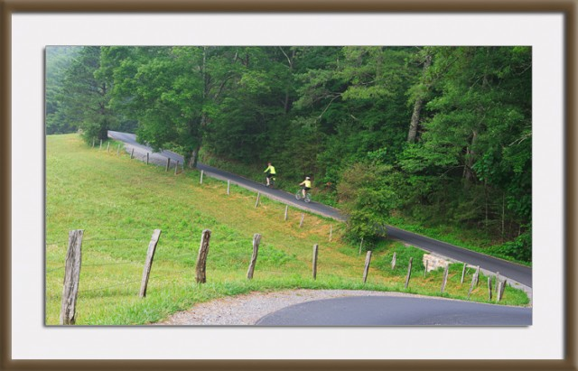 Bicycling-Cades-Cove