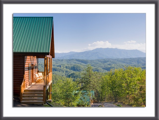 Smoky Mtn resort cabin with a view