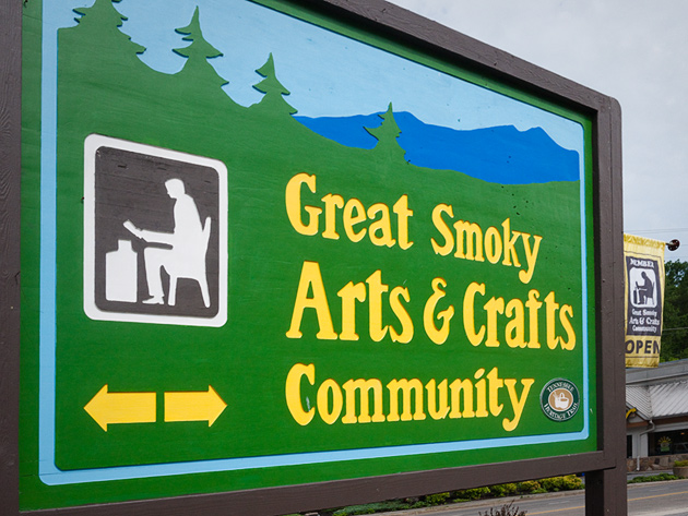 Great Smoky Arts and Crafts Community in Gatlinburg