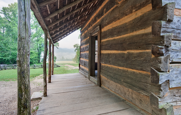 John Oliver Cabin in Cades Cove © William Britten use with permission only