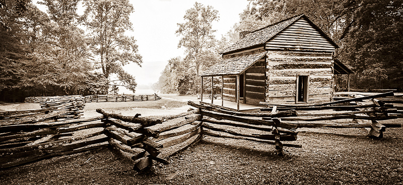 Cades Cove: John Oliver Homestead