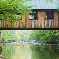 Covered Bridge over the Little Pigeon River