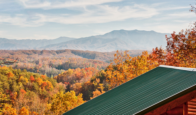 View of Mt. LeConte © William Britten use with permission only