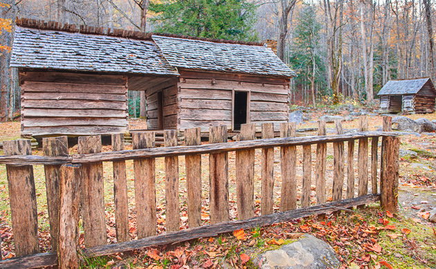 Ephraim Bales Cabin © William Britten use with permission only