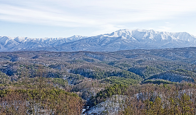 Snowy Smoky Mountains © William Britten use with permission only