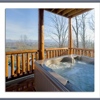 Miles Away on Monday: Winter Hot Tub!