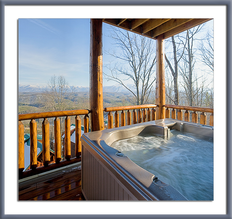 master forge spa fever tub hot cabins cabin bedroom jacuzzi with pigeon in beaver gatlinburg
