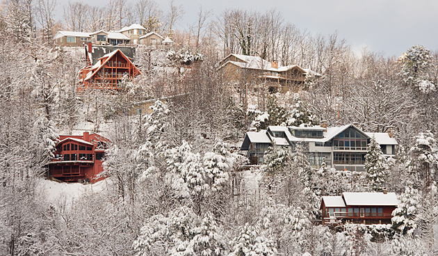 Gatlinburg in Winter © William Britten use with permission only
