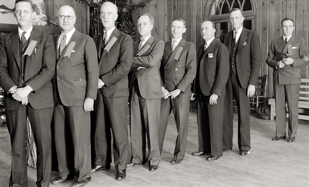 Smoky Mountains Hiking Club Presidents in 1936 © University of Tennessee Libraries