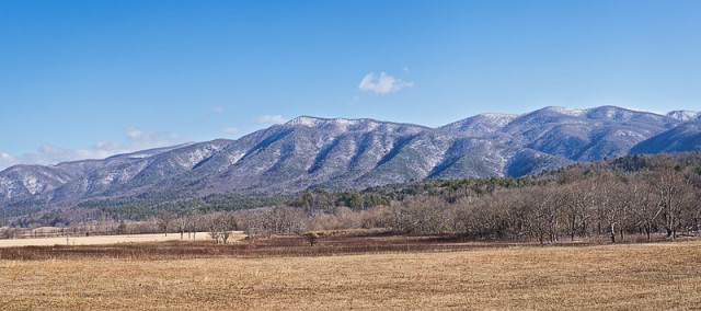 Cades Cove Winter Vista © William Britten use with permission only