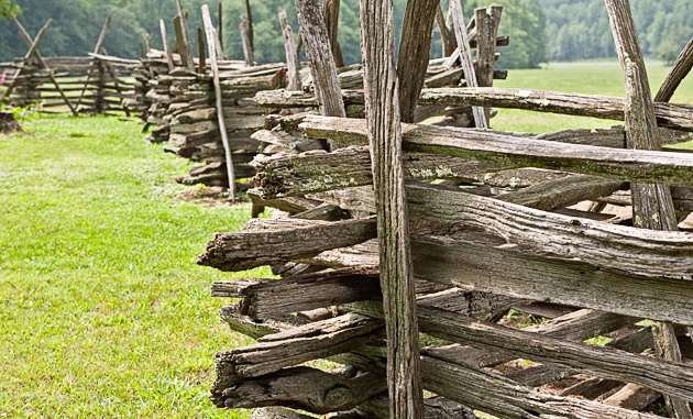 Split Rail Fence © William Britten use with permission only