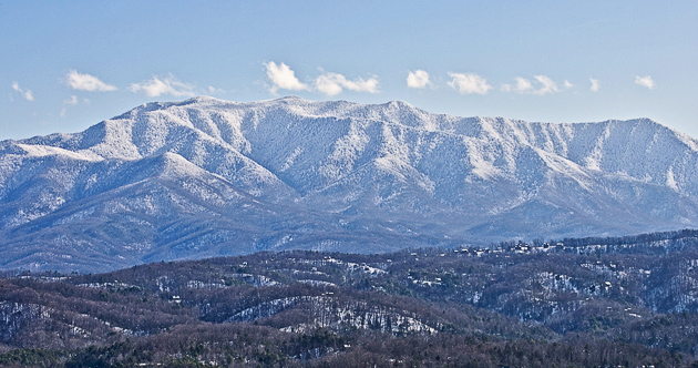 Smoky Mountains in January