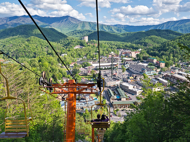 Good Try The Sky Lift For Great Smoky Mountains Photos!