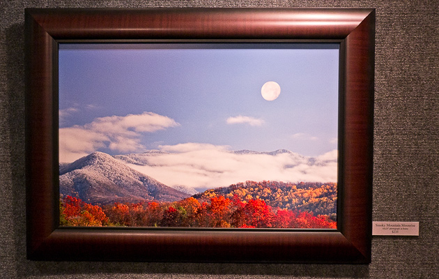 Smoky Mountains Moonrise