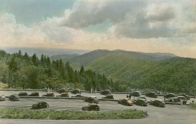 Newfound Gap around 1940