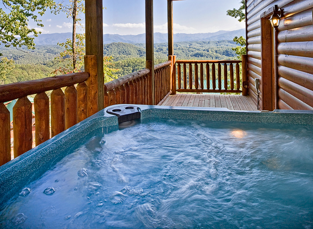 Smoky Mountains Hot Tub