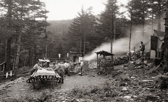 1920s Outdoor Kitchen on Mt. LeConte
