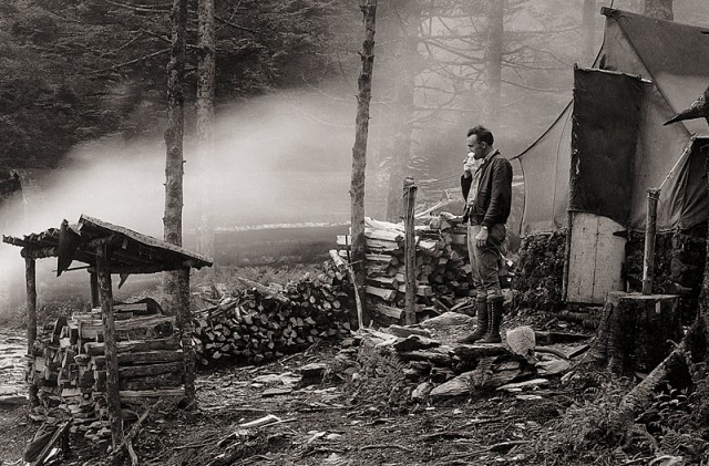 Camping on Mt. LeConte 1920s
