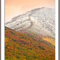 Wordless Wednesday: Early Snow on Mt. LeConte