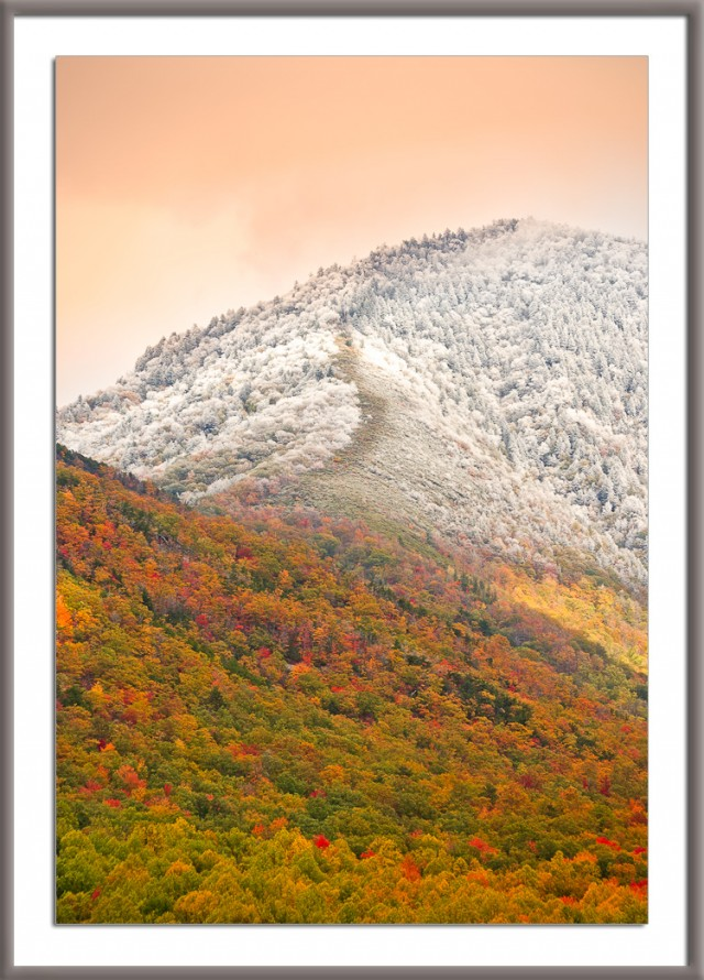 Smoky Mountains Snowfall
