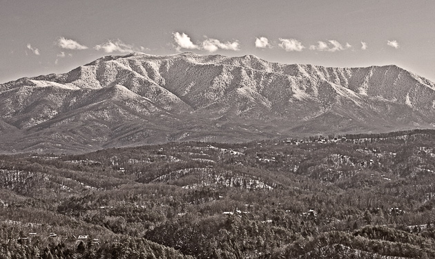 Mt. LeConte in Winter