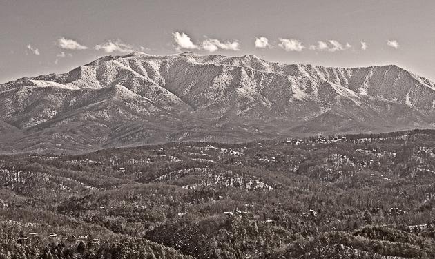 Mt. LeConte in Winter