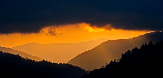 Smoky Mountains photos: Dramatic Sunset