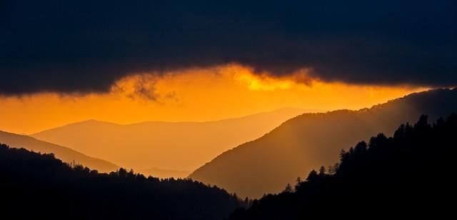 Smoky Mountains photos: Dramatic Sunset