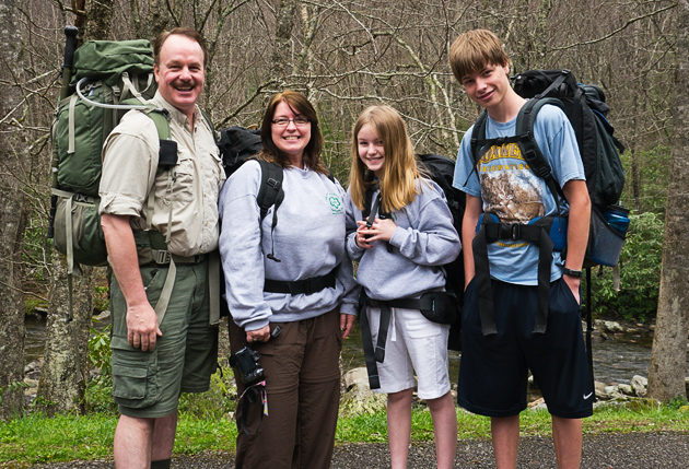 Gary, Rachel, Lisa and Blake