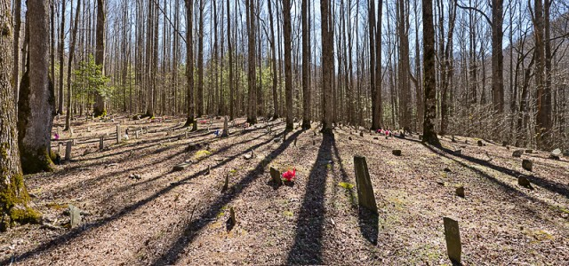 Smoky Mountains History: Plemmons Cemetery
