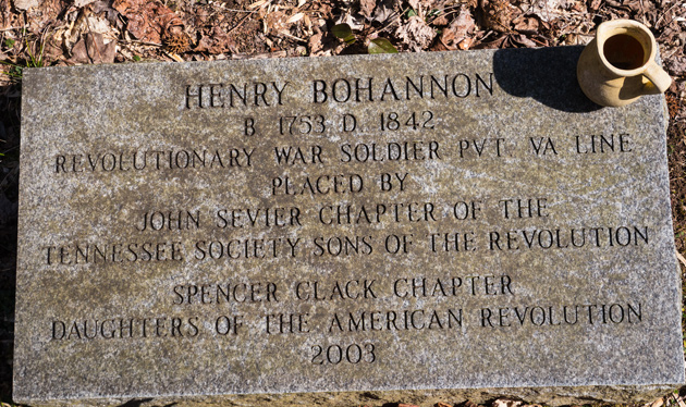 Smoky Mountains history: Henry Bohannon