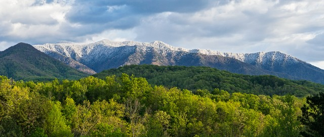 Snowcap on Mt. LeConte