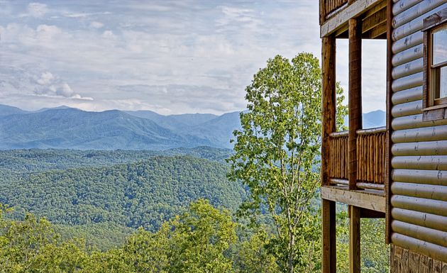 Resort Cabin with a View of the Smokies