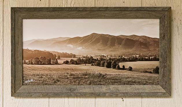 Smoky Mountains photos in Black and White
