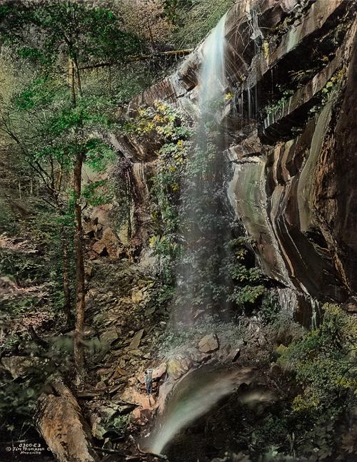 Smoky Mountains History: Rainbow Falls
