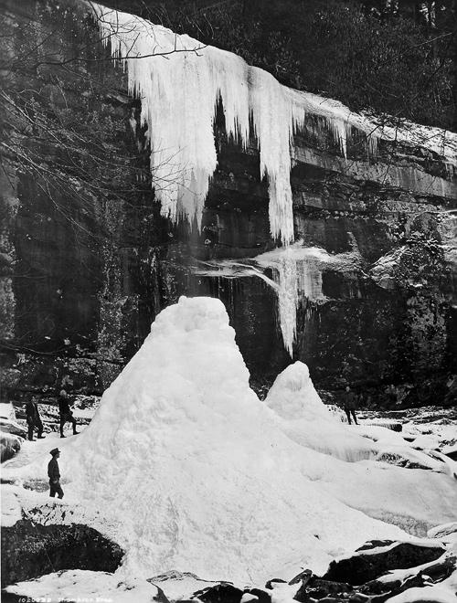 Rainbow Falls, Winter 1925