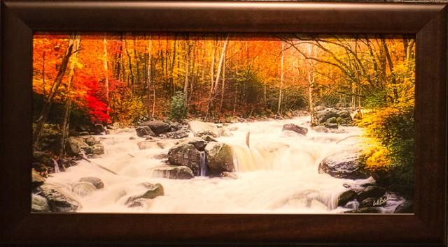 Smoky Mountains photos Autumn Panorama