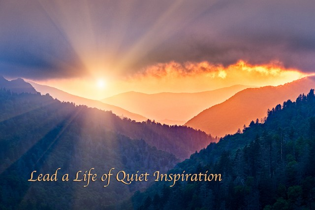 A Life of Quiet Inspiration