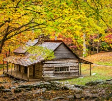 Autumn at the Ogle Cabin