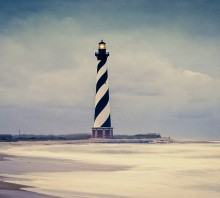 Cape Hatteras in Storm