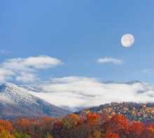 Smoky Mtn Moonrise