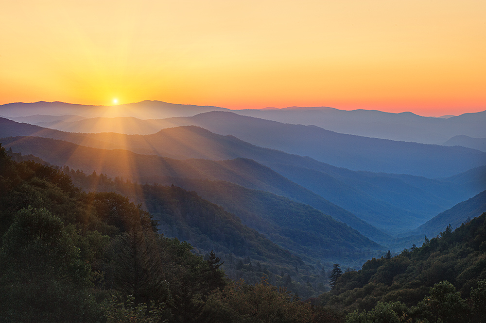 Smoky Mountain Vistas William Britten Photography